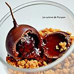 recette Verrine yaourt linette, miel, spéculoos et griotte au kirsch