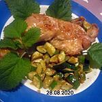 recette Cuisses de poulet frits aux herbe pleins de SUD.