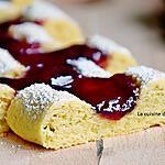 recette Croquets ou biscuits à la confiture ou gâteau rigole