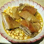 recette Poitrine de porc aux coco de Paimpol
