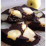 recette Gâteau au chocolat et aux poires