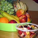 recette Salade d'été ( fruits frais )