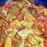 recette Tchektchouka de poivrons vert(recette espagnol)