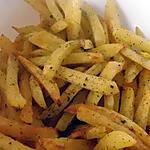 recette Frites au four maison aux herbes de Provence