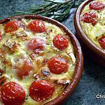 recette Flan aux Tomates Cerises et Romarin