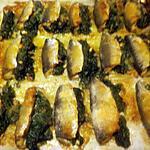 recette Filets de sardines farcis aux épinards