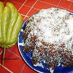 recette Dessert glacé au chouchou, sauce chocolat