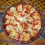 recette Gratin de pommes de terre et de tomates