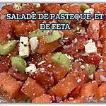recette SALADE DE PASTÈQUE ET DE FETA