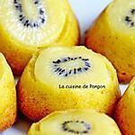 recette Muffin aux kiwis et poires