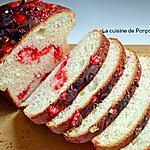 recette Brioche aux pralines roses