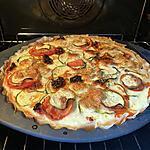 recette Tarte tomates courgettes et thon
