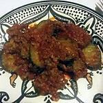 recette Courgettes au hachis de viande