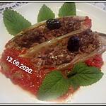 recette Endives farcies au boeuf haché et curry.