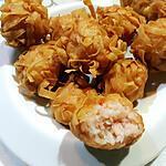 recette Boulettes de crevettes croustillantes