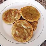 recette Galettes sucrées de patate douce