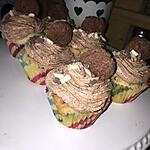 recette Cupcakes aux cookies