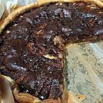 recette Tarte gourmande poire pomme chocolat