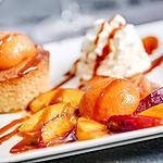 recette Recette sablé breton et abricots confits au miel et romarin