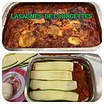 recette LASAGNES DE COURGETTES