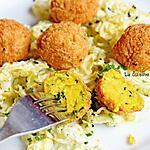 recette Falafel de houmous de pois chiches, végétarien
