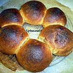 recette Pain brioché (sans œuf) pesto de basilic, épices pour pain d'épices.