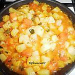 recette Poêlée rapide de légumes de saison