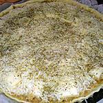 recette Quiche rillettes de poulet raclette, comté