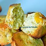 recette Muffin aux pêches et cardamone, sans beurre