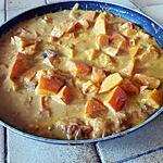 recette Potimaron au lait de coco et aux épices