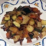 recette Poêlée de legumes / chayottes maison