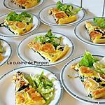 recette Feuilleté à la tétragone et fromage de chèvre