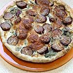 recette quiche aux endives et saucisses de montbéliard