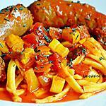 recette Saucisse italienne au fenouil à la sauce tomate
