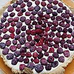 recette tarte crème de pistache framboise
