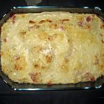 recette Chou-fleur gratiné au jambon