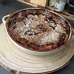 recette Tourte aux pommes et aux noix