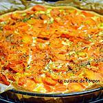 recette Tourte aux carottes et effilochés de porc
