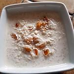 recette Semoule crémeuse à l'abricot