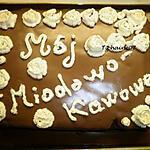 recette Gâteau Miodowo-Kawowe