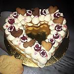recette Number cake cœur