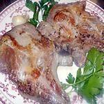 recette Cote de porc  aux herbes de provence et pastis