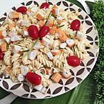 recette Salade de pâte au surimi