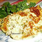 recette Omelette complète aux brèdes chouchou