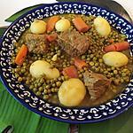 recette Veau carotte pommes de terre et petit pois