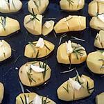 recette Pommes de terre au romarin et ail
