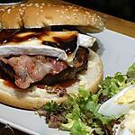 recette Hamburger au Bacon Fumé et au Brie