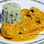 recette Filet de poulet à la sauce moutarde et champignons