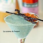 recette Verrine de yaourt à la linette et spiruline