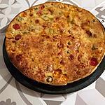 recette Clafouti aux tomates et aux olives
